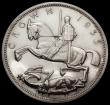 London Coins : A170 : Lot 1438 : Crown 1935 Raised edge Proof ESC 378, Bull 3655, UNC to nFDC retaining considerable mint brilliance,...