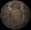 London Coins : A170 : Lot 1448 : Dollar George III Octagonal Countermark on a Mexico City 8 Reales 1796FM countermark GVF, host coin ...