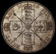 London Coins : A170 : Lot 1452 : Double Florin 1888 ESC 397, Bull 2699 GEF/AU and lustrous with attractive gold tone, the obverse wit...