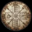 London Coins : A170 : Lot 1455 : Double Florin 1889 ESC 398, Bull 2701 GEF with some contact marks,  retaining much original lustre e...