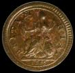 London Coins : A170 : Lot 1467 : Farthing 1719 Small Obverse Letters Peck 812. A/UNC with attractive underlying tone. The finest of o...