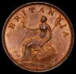 London Coins : A170 : Lot 1471 : Farthing 1806 Portrait 2 Peck 1397 NEF with traces of lustre