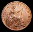 London Coins : A170 : Lot 1474 : Farthing 1825 Obverse 1, as Peck 1414, variety with 1 in date having no top serif, LCGS Variety 10, ...