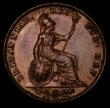 London Coins : A170 : Lot 1478 : Farthing 1842 as Peck 1562, Top Colon stop after BRITANNIAR very weak, Aboutfarthings Obverse 1, bot...