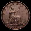 London Coins : A170 : Lot 1498 : Farthing 1869 Freeman 522 dies 3+B, NEF scarce