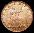 London Coins : A170 : Lot 1501 : Farthing 1873 as Freeman 524 dies 3+B, Low 3 (touches linear circle) LCGS variety 02, UNC and with a...