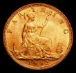 London Coins : A170 : Lot 1503 : Farthing 1882H Broken F in F:D: type as Freeman 549 dies 7+F, LCGS variety 01, UNC with practically ...