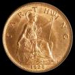 London Coins : A170 : Lot 1516 : Farthing 1928 Freeman 609 dies 3+B, in an LCGS holder and graded LCGS 91, a choice piece, very few c...