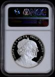 London Coins : A170 : Lot 1522 : Five Pound Crown 2017 The Platinum Wedding Anniversary of Queen Elizabeth II and Prince Philip S.L57...