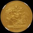 London Coins : A170 : Lot 1527 : Five Pounds 1902 Matt Proof S.3966 in an NGC holder and graded PF61 Matte, from the Coronation Proof...