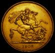 London Coins : A170 : Lot 1530 : Five Pounds 1902 S.3965 GVF with a gentle edge bruise