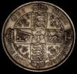 London Coins : A170 : Lot 1546 : Florin 1880 33 arcs ESC 854, Bull 2900, Davies 771, 7 jewels in centre cross, dies 7B NVF/VF the obv...