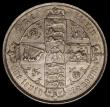 London Coins : A170 : Lot 1547 : Florin 1881 ESC 856, Bull 2902 GVF or better/NEF with a hint of toning