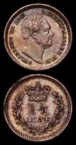 London Coins : A170 : Lot 1598 : Groat 1844 ESC 1939, Bull 3336 EF/GEF the reverse lightly toned, the obverse with a small tone spot ...