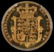 London Coins : A170 : Lot 1637 : Half Sovereign 1826 Proof S.3804, Wilson & Rasmussen 249. Without the extra tuft of hair. in a P...