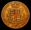 London Coins : A170 : Lot 1644 : Half Sovereign 1845 with large (tall) first A in BRITANNIARUM, as Marsh 419, Near Fine, examination ...
