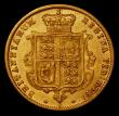 London Coins : A170 : Lot 1654 : Half Sovereign 1879S Marsh 463 Near VF/About VF, Rare with a mintage of just 94,000 pieces