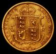 London Coins : A170 : Lot 1663 : Half Sovereign 1893M Jubilee Head S.3870B, Marsh 484, DISH M507 Good Fine and bold
