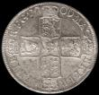 London Coins : A170 : Lot 1714 : Halfcrown 1709 OCTAVO ESC 579, Bull 1371 UNC or near so and lustrous, in an LCGS holder and graded L...