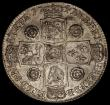 London Coins : A170 : Lot 1723 : Halfcrown 1741 Roses, unaltered date, DECIMO QVARTO edge, ESC 601, Bull 1681 GVF with some lustre an...