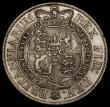 London Coins : A170 : Lot 1747 : Halfcrown 1817 Small Head, with some double striking to the date and legends ESC 616, Bull 2086 GVF ...