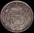London Coins : A170 : Lot 1756 : Halfcrown 1820 George IV ESC 628, Bull 2357 UNC and choice, a most attractive example with hints of ...