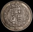 London Coins : A170 : Lot 1762 : Halfcrown 1824 ESC 636, Bull 2367 Good Fine/Fine