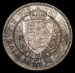 London Coins : A170 : Lot 1817 : Halfcrown 1896 ESC 730, Bull 2782, Davies 668 dies 2A, Reverse with longer border teeth and straight...