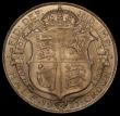 London Coins : A170 : Lot 1842 : Halfcrown 1921 ESC 768, Bull 3722, Davies 1678, dies 3C UNC or very near so with underlying gold ton...