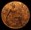 London Coins : A170 : Lot 1949 : Penny 1908 Freeman 165 dies 2+C UNC with around 30% lustre, the reverse with some very light frictio...