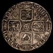 London Coins : A170 : Lot 1970 : Shilling 1723 SSC First Bust ESC 1176, Bull 1586 NVF/GF with some haymarking, the fields uneven, pos...