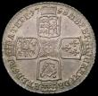 London Coins : A170 : Lot 1982 : Shilling 1758 ESC 1213, Bull 1734 EF/GEF with a pleasing light tone