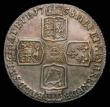 London Coins : A170 : Lot 1983 : Shilling 1758 ESC 1213, Bull 1734 UNC and lustrous with hints of golden toning, in an LCGS holder an...