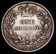 London Coins : A170 : Lot 2001 : Shilling 1846 as ESC 1293, Bull 2992 with some double striking to the obverse legend, the first T in...