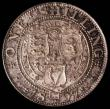 London Coins : A170 : Lot 2026 : Shilling 1897 ESC 1366, Bull 3162 UNC and lustrous with attractive toning, in an LCGS holder and gra...