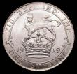 London Coins : A170 : Lot 2043 : Shilling 1919 ESC 1429, Bull 3808 UNC with practically full lustre, in an LCGS holder and graded LCG...