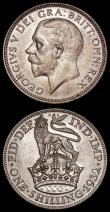 London Coins : A170 : Lot 2050 : Shillings (2) 1930 ESC 1443, Bull 3837 UNC with light old toning over original mint lustre, 1932 ESC...