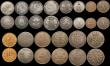 London Coins : A170 : Lot 2585 : A retired dealers ex-retail stock (35) World 19th and 20th Century includes many silver issues, larg...