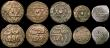 London Coins : A170 : Lot 2635 : Morocco hammered coinage (12) 4 Falus (9) AH1283, AH1284, AH1286 (2), AH1287 7 over 6, AH1288 (2), A...