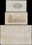 London Coins : A170 : Lot 3 : Bank of England & Treasury (3) a collectible and interesting group of notes comprising examples ...