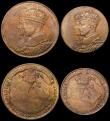 London Coins : A170 : Lot 354 : Canada Medals (3) 1939 Royal Visit to Canada Set of 3 medals Obverse: Conjoined busts of King George...