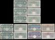 London Coins : A170 : Lot 41 : One Pounds (12) Peppiatt Green B239, Blue B249 (3), Green B260 (6), Beale B268 (2), 10/- Peppiatt Ma...