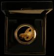 London Coins : A170 : Lot 723 : Two Hundred Pounds 2020 James Bond 007 2oz. .999 Gold Proof, the reverse design a side view of the i...
