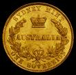 London Coins : A170 : Lot 925 : Australia Sovereign 1862 Sydney Branch Mint Marsh 367 About EF, the obverse with a heavier contact m...