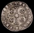 London Coins : A170 : Lot 975 : Cyprus - Crusades Silver Gros Hugh IV (1324-1359) 25mm diameter, weight 4.57 grammes, VF a bold and ...