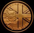 London Coins : A170 : Lot 990 : Falkland Islands Fifty Pence 1982 Liberation of the Falkland Islands Gold Proof KM#18b, the obverse ...