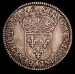London Coins : A170 : Lot 995 : France 1/12th Ecu 1642A point KM#131 GF/NVF a bold and evenly struck example