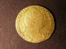 London Coins : A122 : Lot 1580 : Guinea 1779 S.3728 NVF