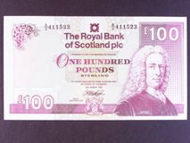 London Coins : A122 : Lot 591 : Scotland Royal Bank of Scotland Plc £100 dated 30th March 1999 prefix A/2, Pick350c, U...