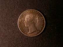 London Coins : A124 : Lot 1004 : Threepence 1860 ESC 2067A type A1 Ear fully visible UNC with attractive colourful tone